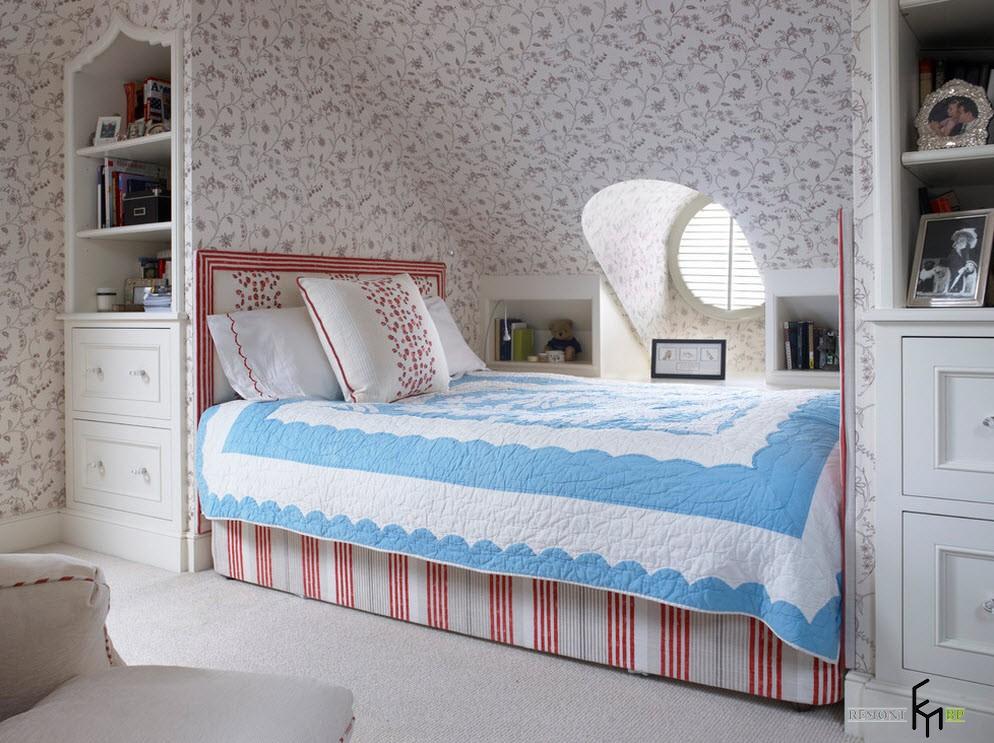 Маленькая спальня на даче дизайн