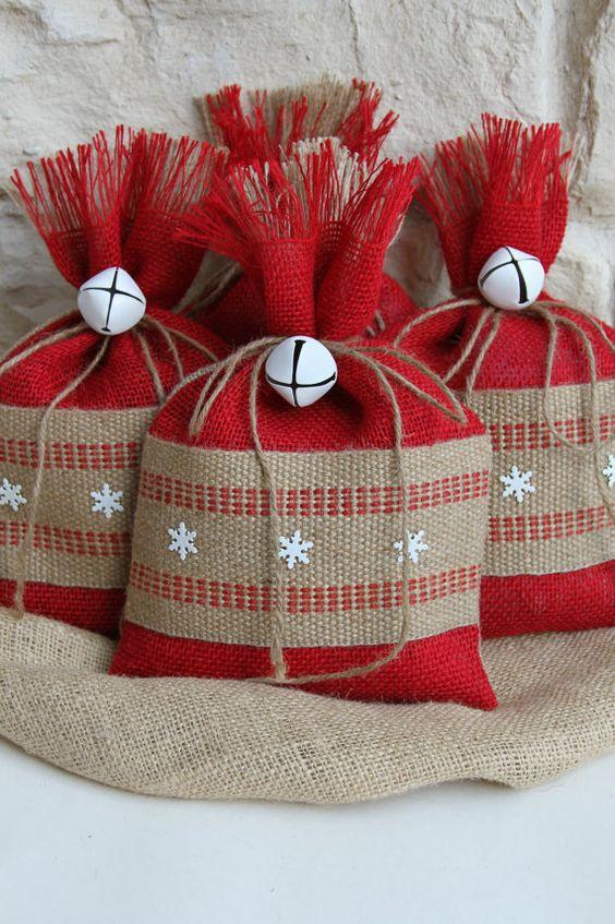 Мешки подарки своими руками 35