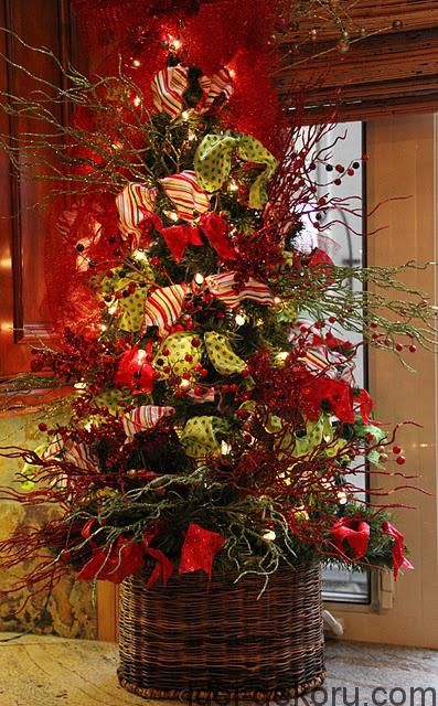 Loving this tree.~ 20 Awesome #ChristmasTree Decorating Ideas & Inspirations - Style Estate -