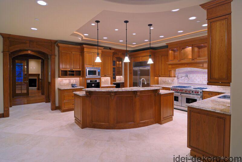 kitchen-cabinets-traditional-medium-wood-golden-brown-001a-s7088401-wood-hood-island-luxury