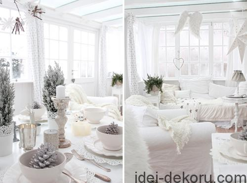 white-christmas-table-settings