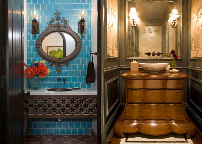 Інтер'єр туалетної кімнати від Hann Builders і Harte Brownlee & Associates Interior Design