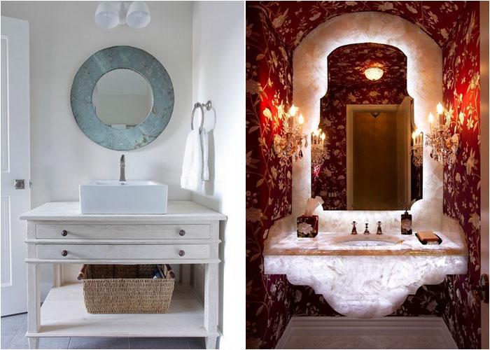 Інтер'єр туалетної кімнати від SPACE Architects + Planners і Ernesto Garcia Interior Design, LLC