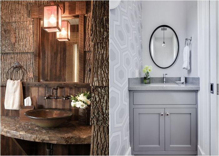 Інтер'єр туалетної кімнати від High Camp Home і Hazel.Wood Design Group