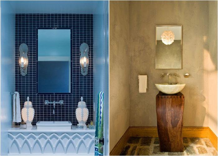 Інтер'єр туалетної кімнати від Lucy Interior Design і Witt Construction