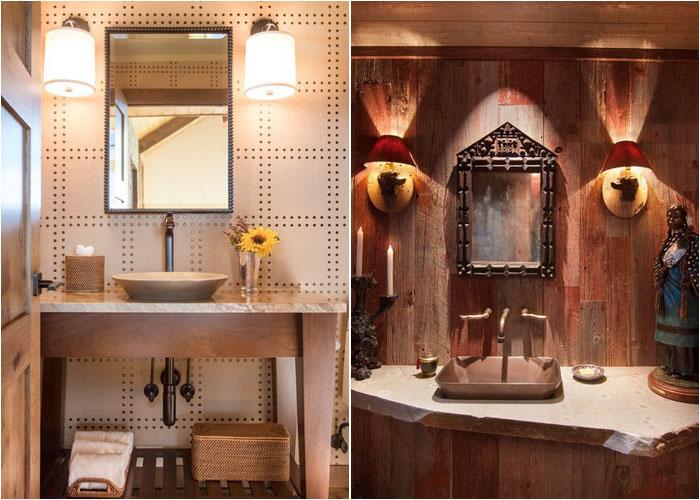 Інтер'єр туалетної кімнати від AXIS Productions і Ward-Young Architecture & Planning - Truckee, CA