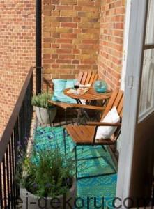 Подборка прекрасных идей для небольших балконов.