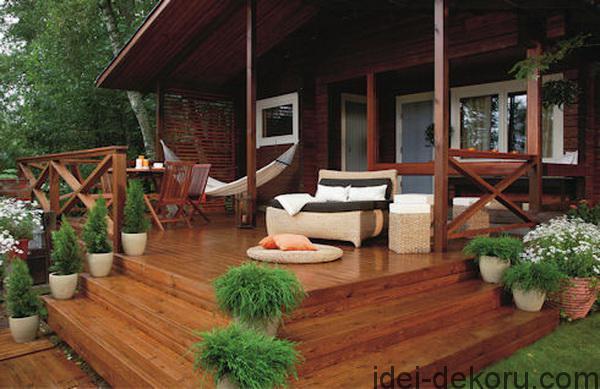 Дизайн веранды к дому своими руками фото