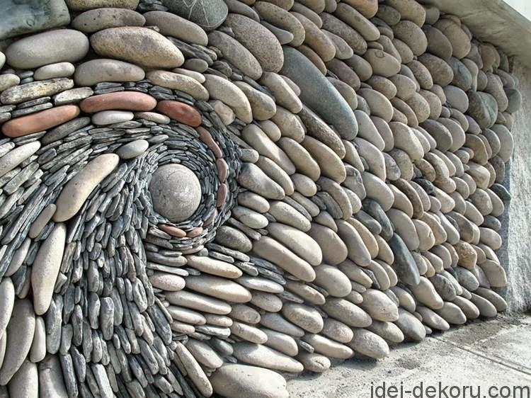 decorative-garden-fence-panels-Garden-fence-with-natural-stone-in-3D-form
