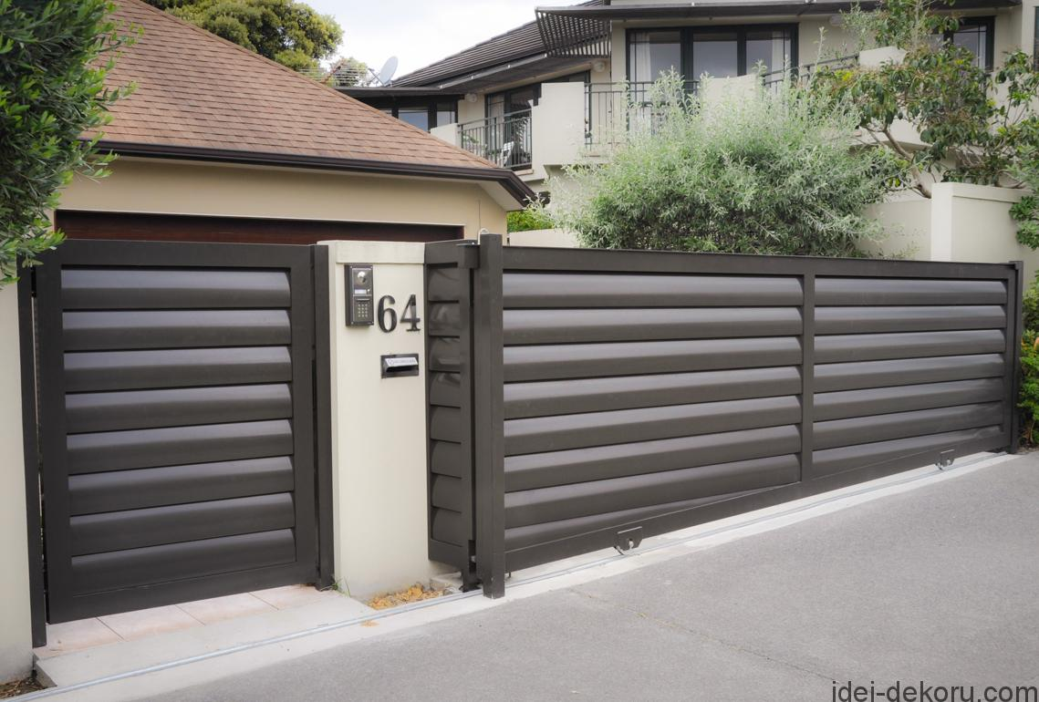 paint-horizontal-fence-design-new-modern-house-gates-and-fences-designs