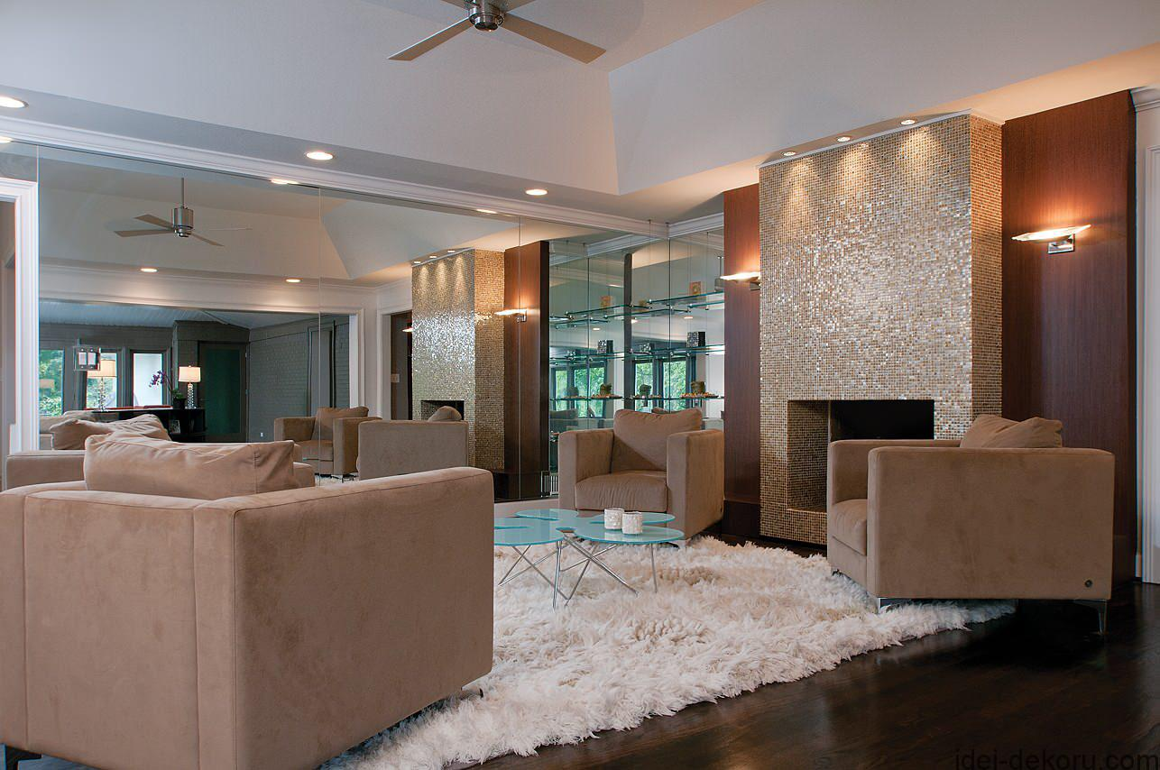 Burns Century Design, modern home remodel, master bathroom and bath, living and dining rooms