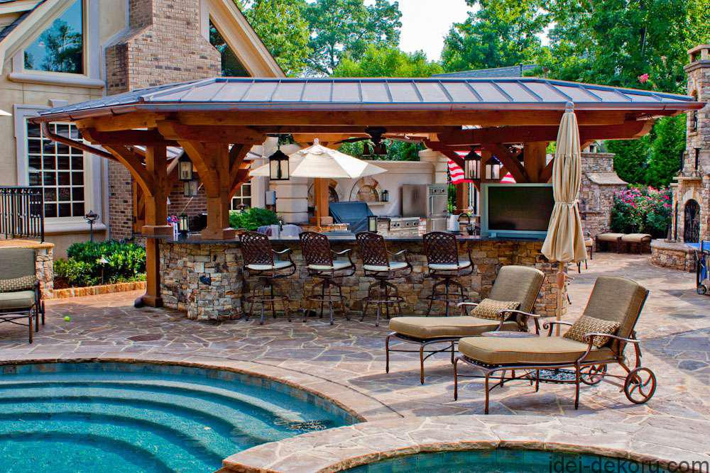 Pool-Backyard-Bbq-Designs