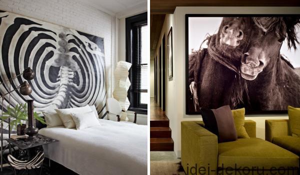 ukrasit-stenu-interiera-fotografiyami