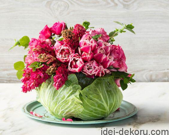 cabbage bouquet