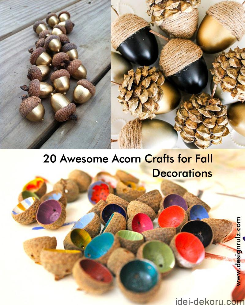 cover-designrulz-20-awesome-acorn-crafts-for-fall-decoration