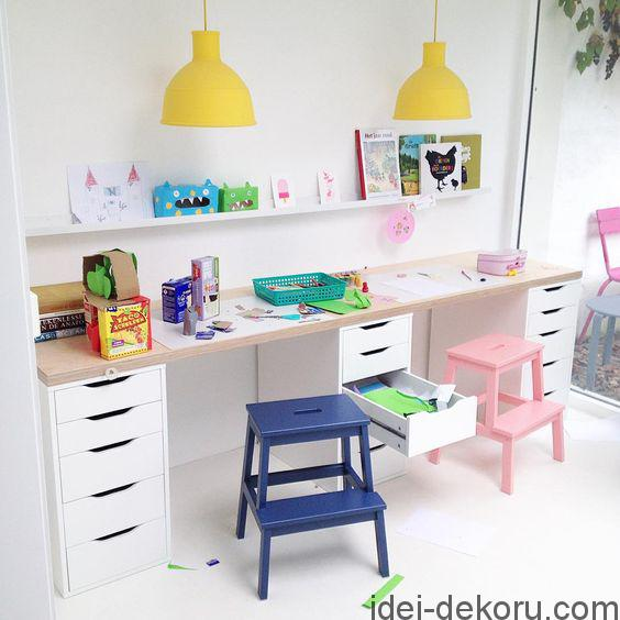 25 Kids Study Room Designs Decorating Ideas: Дитяча кімната для хлопчика та дівчинки(35 ідей)