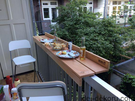 Tiny swedish balcony