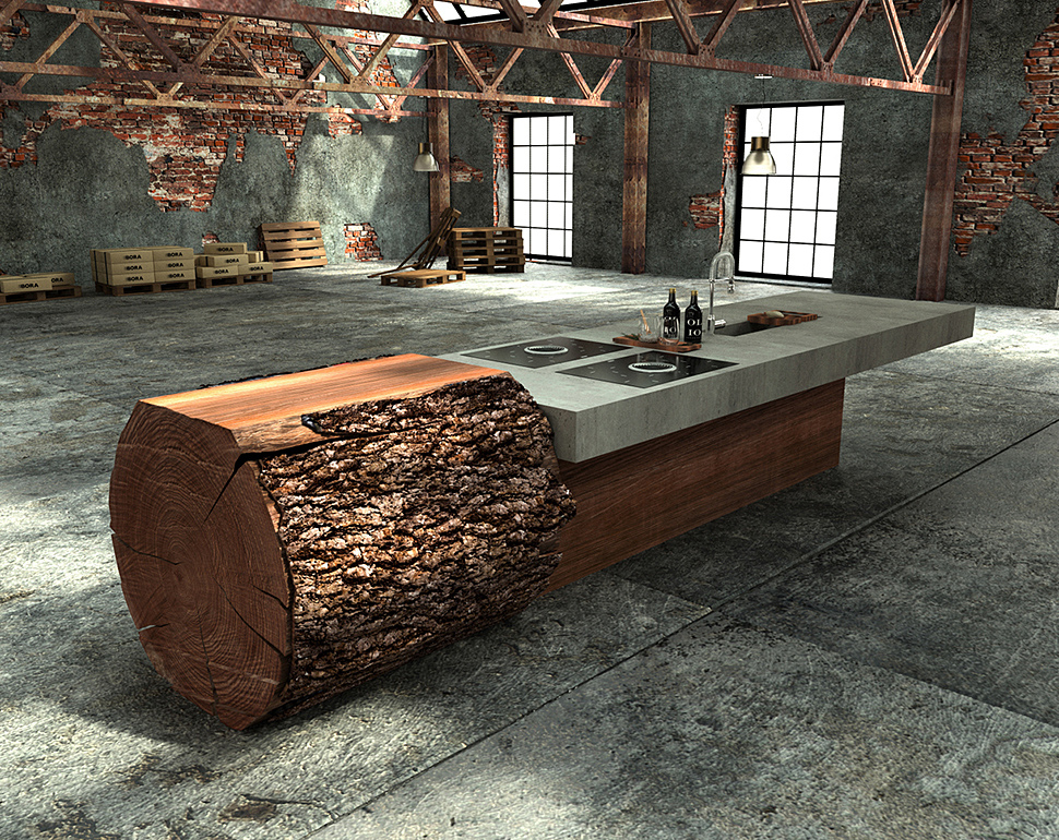 werkhaus-kitchen-island-made-from-tree-trunk