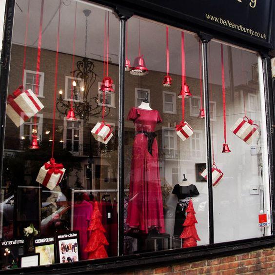 How To Decorate Shops: Ідеї для новорічних вітрин (50 фото)
