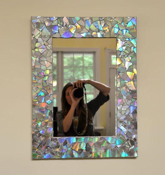 Поделки с зеркалом фото