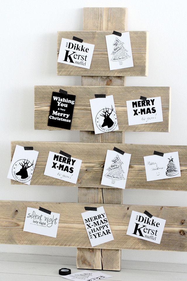 kerstboom-planken