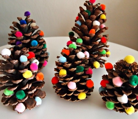 Pine Cone Christmas Tree Ornaments Christmas - Best Christmas Moment