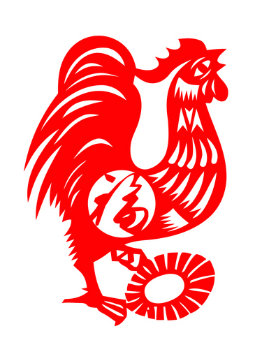 rooster-color-papercut