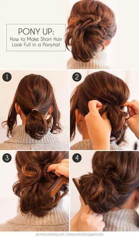 Какую прическу сделать на короткие волосы фото