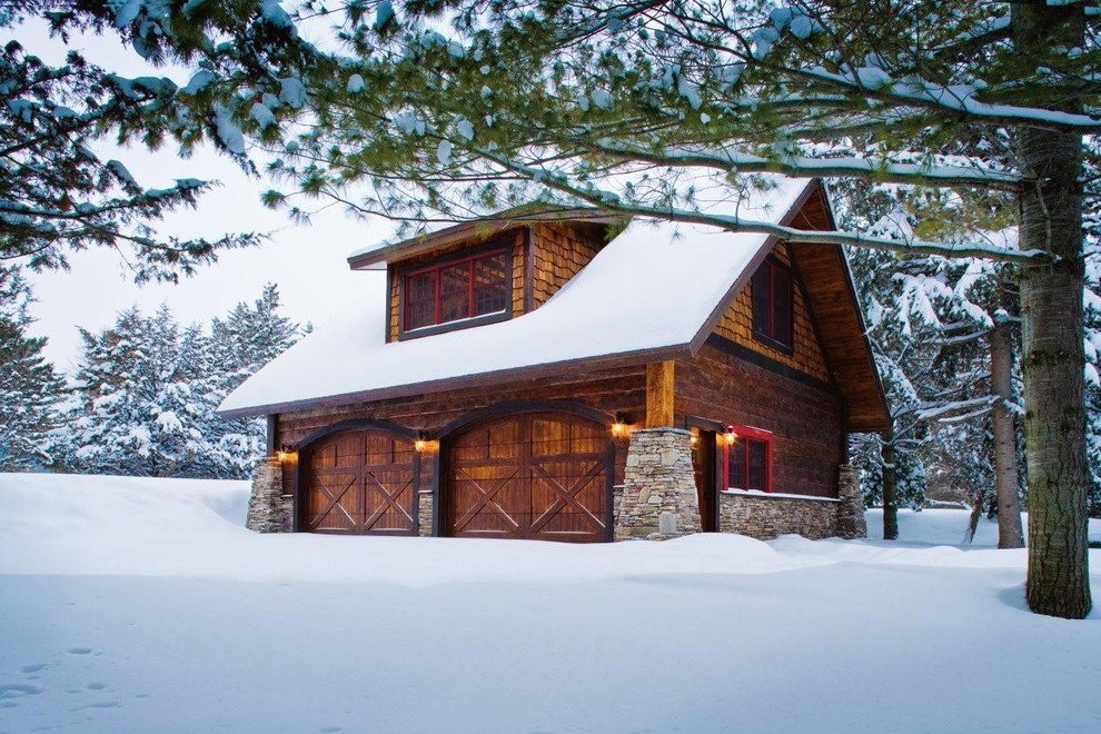 carriage-house-designs-garage-and-shed-rustic-with-attic-storage-bonus-room