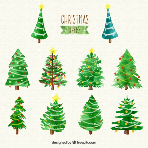 watercolor-christmas-trees-collection_23-2147523918