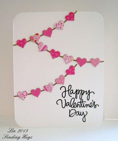 Cute Toddler Valentines Day Quotes: Саморобні листівки з сердечками. 20 ідей