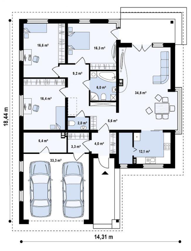 Proekt-doma-s-2-garazhami_84-650x853