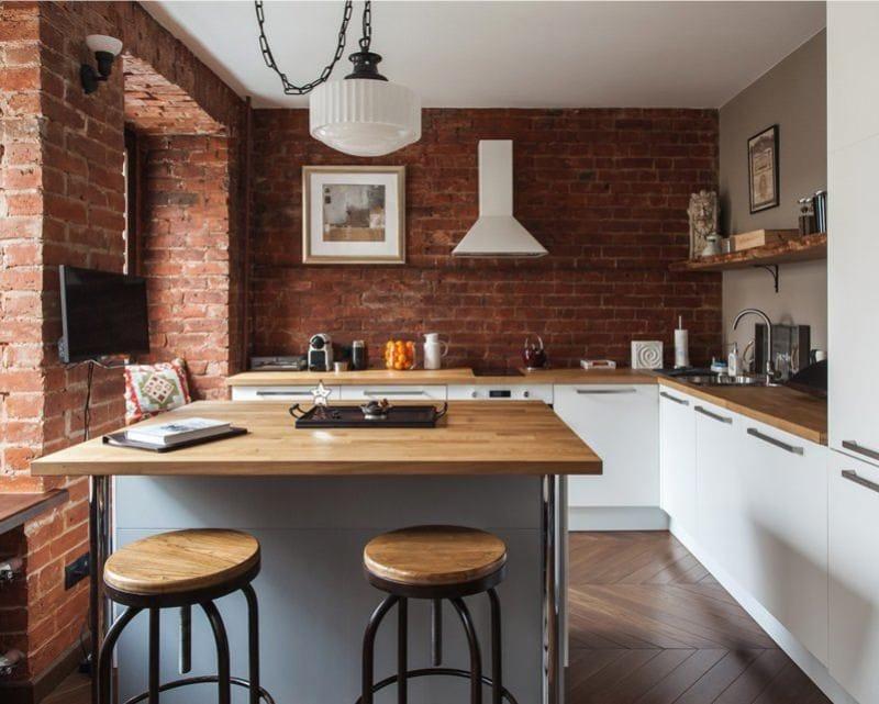 Зонирование-кухни-в-стиле-лофт-островом-800x641
