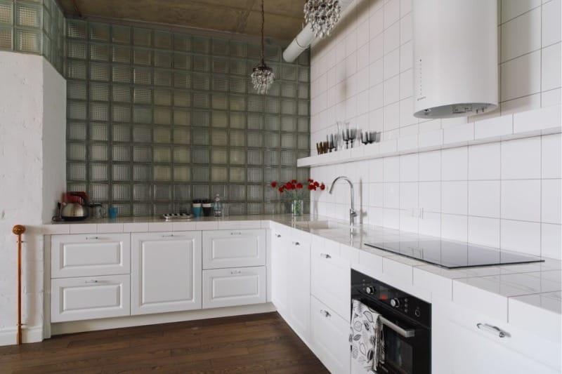 Стеклоблоки-на-кухне-в-стиле-лофт-5