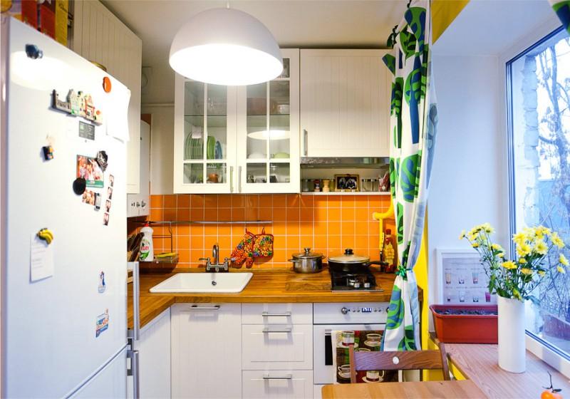 Кухня-с-мини-етхникой