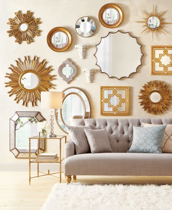 1599600810 WATKINS SOFA  1680400530 SUNBURST MIRRORS - SET OF 2  1204710530 KIERAN WALL MIRROR 1681900530 GOLDEN SUNBEAM CONVEX MIRROR  7842900450 LARA OVAL MIRROR 1713800140 ROUND CONVEX MIRRORS   1713700140 SAN MARIANO MIRROR 1228500950 TURK MIRROR  5072600530 PIZZALE MIRRORS - SET OF 2  1079510280 COLOGNE MIRROR 0672200530 BURNISH TABLE LAMP  1679300530 SOLE MIRROR 1122510400 ACANTHUS BRACKET, SET OF 2 3987500870 ALANI EMBROIDERED BURLAP PILLOW 3986800310 ESME EMBROIDERED BURLAP PILLOW  3971500310 CICILIA EMBROIDERED BURLAP PILLOW  7446460410 PREMIUM FLOKATI RUG  2897800530 LIAM LAMP TABLE