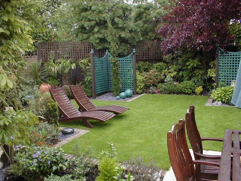 40 for Garden design ideas short wide