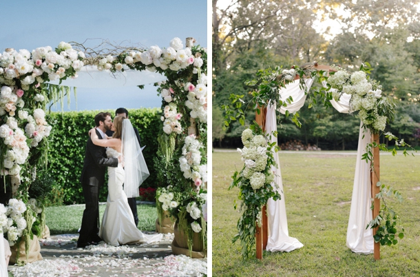 010-southboundbride-floral-wedding-ceremony-arches
