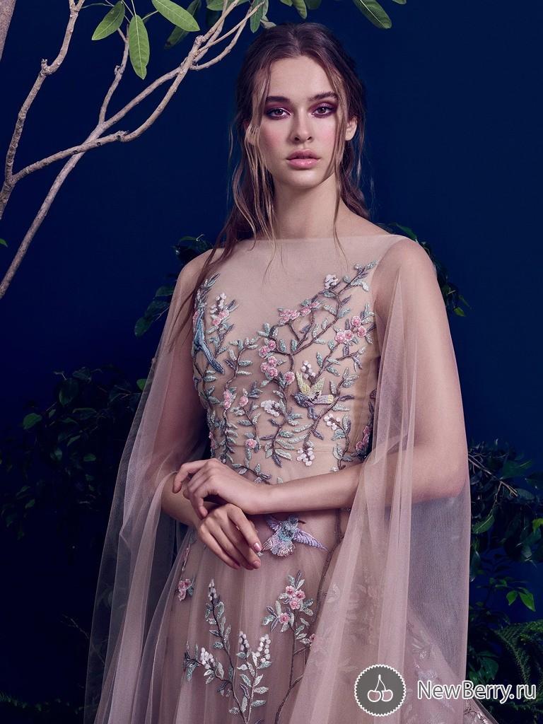 a5a4c6ad1cc666 Фантастичні вечірні сукні з об'ємною вишивкою та аплікаціями | Ідеї ...