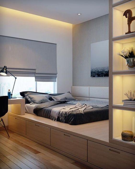 Маленька спальня: грамотний підхід до організації простору