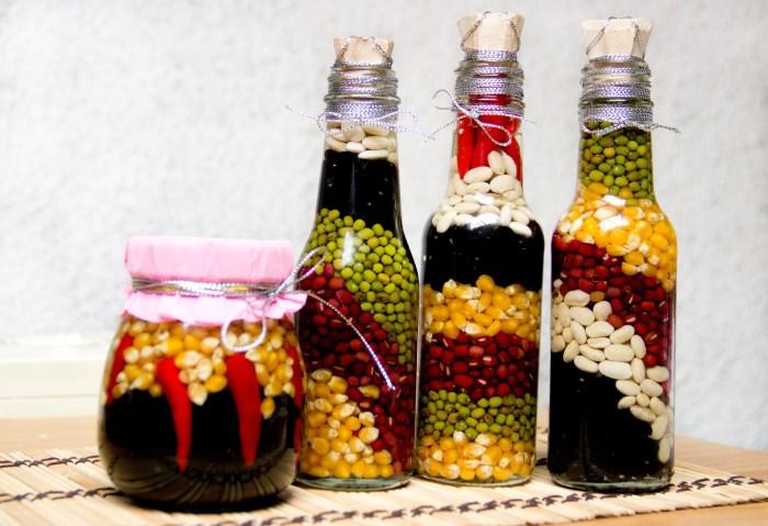 dekorativnye-butylki-s-krupami
