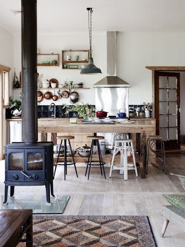 wood-stove-kitchen