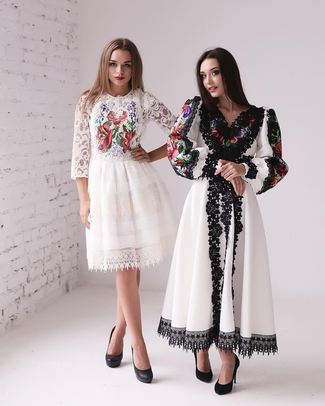 Традиційна вишивка та мереживо  неймовірні сукні від Murashka design ... 3dab3d3f385bc