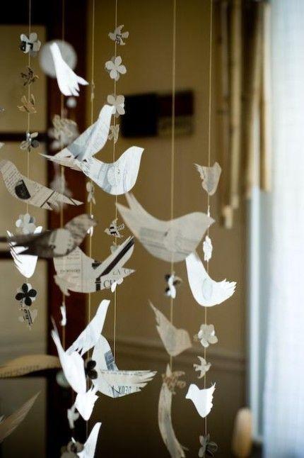 Декоруємо свято папером: 35 ідей