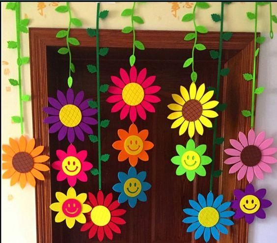 Home Design Ideas Blackboard: Ідеї для декорування садочка та школи до Весни